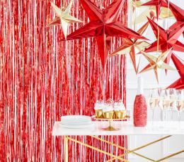 Kabanti dekoracija-žvaigždė, raudona (45 cm) 1