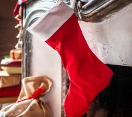 Kalėdinė kojinė, ilga (29x48 cm) 2