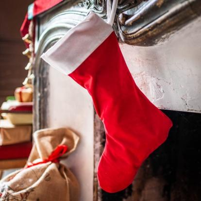 Kalėdinė kojinė, ilga (29x48 cm)