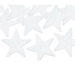 """Karpiniai-dekoracijos """"Perlamutrinės  žvaigždutės"""" (8 vnt./5 cm)"""
