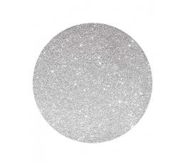 Kartono padėkliukai, sidabriniai blizgūs (4 vnt./33 cm)
