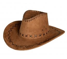 Kaubojaus skrybėlė, ruda 1