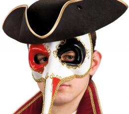 """Kaukė """"Venecijos karnavalas"""", ilga nosimi 1"""