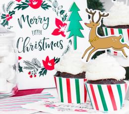 """Keksiukų dekoracijos """"Kalėdos"""" (6 vnt.) 2"""