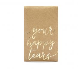"Kišeninės nosinaitės vestuvėms ""Your happy tears"" (10 vnt.) 1"