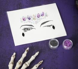 """Klijuojamų veido dekoracijų rinkinys """"Helovinas""""  1"""
