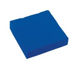 Kokteilinės servetėlės, mėlynos (20 vnt.)