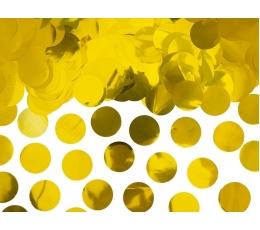 Konfeti, auksiniai foliniai (15 g.)