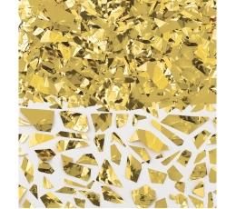 Konfeti, auksiniai smulkūs (42 g)
