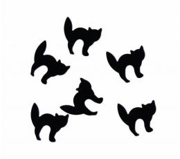 """Konfeti """"Juodos katės"""" (10 g.)"""