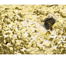 Konfeti patranka, auksinė stumiama