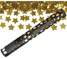 "Konfeti patranka ""Aukso žvaigždės"" (60 cm)"