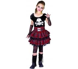 "Kostiumas ""Mergaitė su kaukole"" (L)"