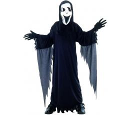 """Kostiumas su kauke """"Juodas vaiduoklis"""" (7-9 m.)"""