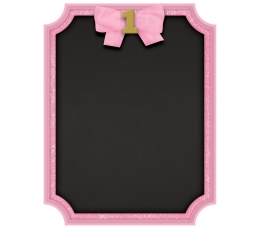 """Kreidinė lentelė """"1-asis gimtadienis"""", rožinė"""