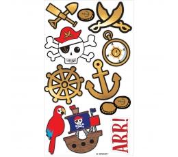 """Laikinos tatuiruotės """"Piratai"""""""