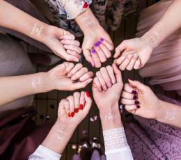 """Laikinos tatuiruotės """"Team bride"""" (13 vnt.) 1"""