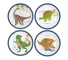 "Lėkštutės ""Dinozaurai"" (8 vnt./22 cm)"