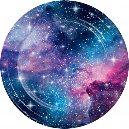 """Lėkštutės """"Galaktika (8 vnt./22 cm)"""