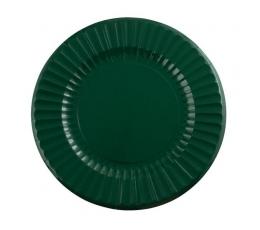 Lėkštutės-padėklai, tamsiai žali (6 vnt./33 cm)