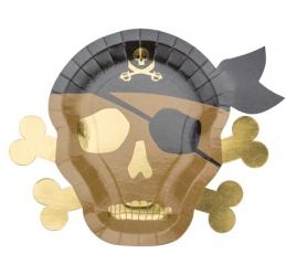 """Lėkštutės """"Piratai"""" (8 vnt./26 cm) 1"""