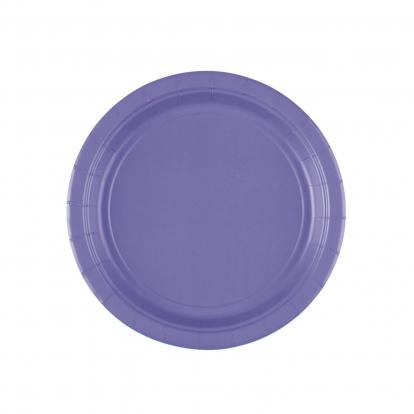 Lėkštutės, violetinės (8 vnt./17 cm)