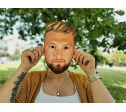 Lietuvos rinktinės krepšininko kaukė
