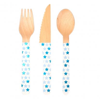 """Mediniai stalo įrankiai """"Mėlynos žvaigždutės"""" (8-iems)"""