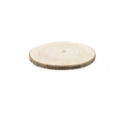 Medinis padėklas-ripka (25x2 cm)