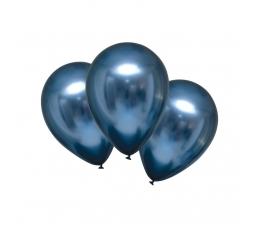 Metalizuotas balionas, mėlynas (30 cm)