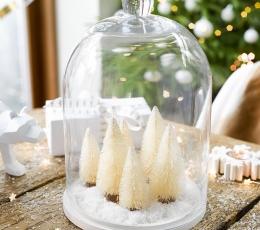 "Mini dekoracijos ""Kalėdų eglutės"" (6 vnt.) 1"