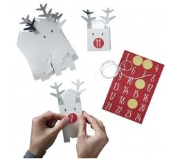 """Advento kalendorius """"Kalėdų elniai-dėžutės"""""""