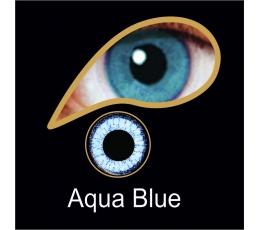"""Akių lęšiai """"AQUA BLUE"""" (90 dienų)"""