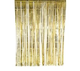 Aukso folijos užuolaida-lietutis (2x2 m)