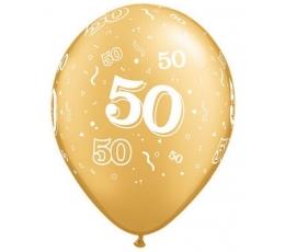 "Balionai ""50"", auksiniai (25vnt.)"
