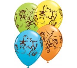 """Balionai """"Beždžionėlės"""" (25 vnt./28 cm)"""
