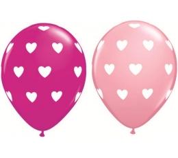 """Balionai """"Big hearts"""" (25vnt./ 28 cm)"""