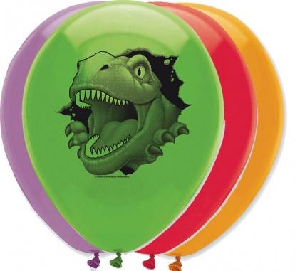 "Balionai ""Dinozauras Dinas"" (6 vnt./30 cm)"