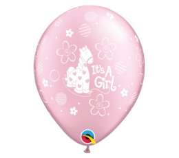 "Balionai ""It's a girl"", rožiniai (25 vnt./28cm. Q11)"