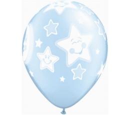 """Balionai """"Mėnuliai ir žvaigždės"""" (25 vnt./28 cm. Q11)"""