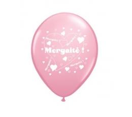 "Balionai ""Mergaitė"", rožiniai (25 vnt./28cm.)"