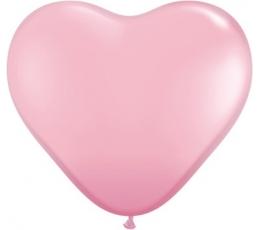 """Balionai """"Rožinės širdelės"""" (100vnt./15cm.)"""
