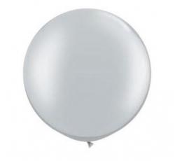 Balionai, sidabriniai guminiai (2vnt./78cm. Q30)