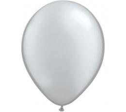 Balionai, sidabriniai perlamutriniai (100vnt./13cm. Q5)