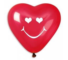 """Balionai """"Širdelės - šypsenos"""" (10 vnt./25 cm)"""