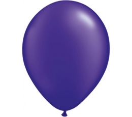 Balionai, tamsiai violetiniai perlamutriniai (100vnt.,13cm)