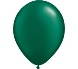 Balionai, tamsiai žali perlamutriniai (100vnt./13cm. Q5)