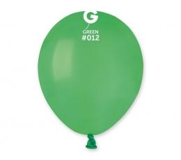 Balionai, žali pasteliniai (100vnt/13cm.)