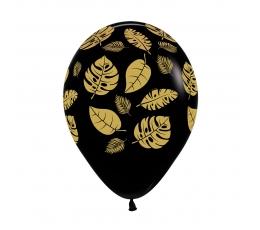 """Balionas """"Auksiniai tropikų lapai"""" (30 cm)"""