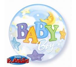 """Balionas-bubble"""" Baby boy"""" (56 cm)"""